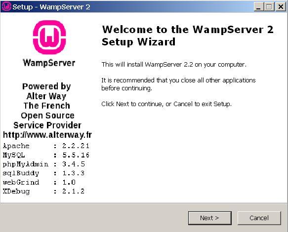 Download and Install Wamp Server | sitepop