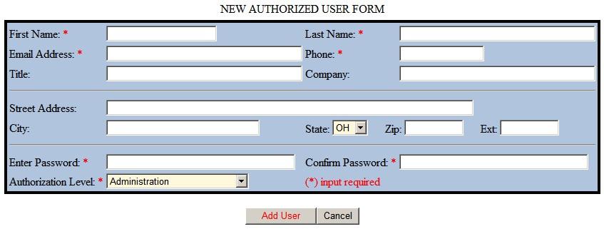 Handling User Input Errors   sitepop